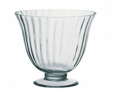 DRH Aspen Glass Trifle Punch Fruit Centerpiece Bowl