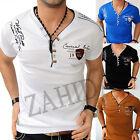 Hombres Ocio Camiseta T-Shirt Camisa Larga Club de Polo S-3XL NUEVO