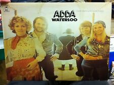 Abba Waterloo LP Record EPC 80179