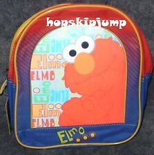 SESAME STREET ELMO SMALL BACKPACK ~ NWT