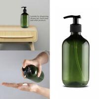4Pcs 300mL Empty Lotion Plastic Pump Bottles Shampoo Soap Dispenser Refillable