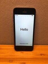 Apple iPhone A1457 5s Silver Locked European Danish Phone
