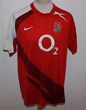 ENGLAND  RUGBY Shirt NIKE 02 TRIKOT MIT POPPY GR XL