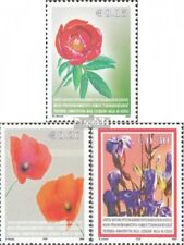 kosovo (UN-Administration) 28-30 mint never hinged mnh 2005 Locals Flora