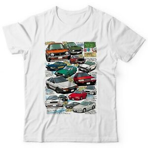 Toyota Tribute Corolla Anime Shirt