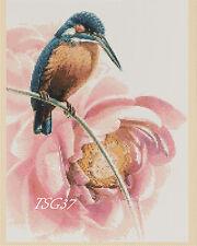 Cross Stitch Chart - Kingfisher -- Birds no. 335 TSG37 - FREE UK P&P