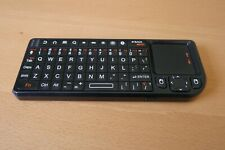 ODG  Mini  bluetooth Black Wireless Keyboard w/Mousepad Remote, Rechargeable!