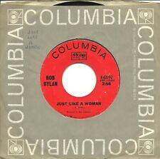 "Bob Dylan-Just Like A Woman/Obviously 5 Believers-45 RPM-7""-single-folk rock-vin"