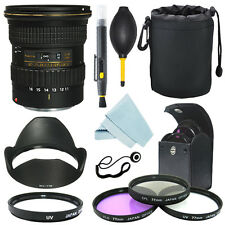 Tokina AT-X 116 PRO DX-II 11-16mm f/2.8 Lens for Canon+ Filter Kit+ Accessor kit