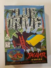 CLUB DRIVE Atari Jaguar Cartridge NEW Factory Sealed J9003E