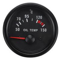 2'' 52mm Analogue Manometro Temperatura Olio Strumento Con Sensore Tuning Auto