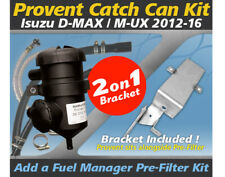 ProVent Oil Catch Can Dual Bracket Kit for Isuzu D-MAX MU-X 4JJ1-TCX 3L 2012-16