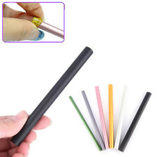 6Pcs French Acrylic Nail Art Tips Shaping C Curve Rod Sticks Manicure Tool ^P