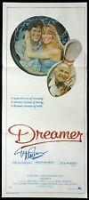 DREAMER Original Daybill Movie poster AUTOGRAPHED Tim Matheson TEN PIN BOWLING