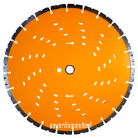 "14"" CONCRETE/MASONRY Husqvarna/Stihl/Hitachi CutofSaw ORANGE CRUSH DIAMOND BLADE"