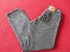 LEVI 550 32/32 BLACK JEANS PRE-OWNED VERY GOOD RELAXED FIT TAPERED FIT