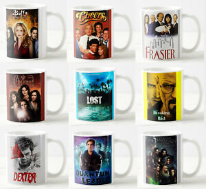 Greatest TV shows Coffee Mugs - Gift coaster Series mug