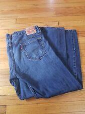 Levi Strauss 569 Jeans Size 36 X 31 Medium Wash Blue Straight 5 Pockets Zipper