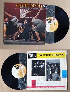 """Olivier Despax / Claude Francois ,très rare 33 tours 25 cm ,au """" Madison """""""