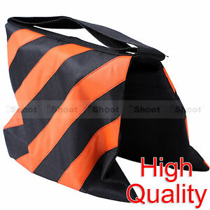 New Counter-balance Weight Sand Bag Pouch for Tripod Studio Light Stand Boom