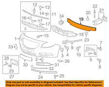 Buick GM OEM 11-16 Regal Front Bumper-Impact Reinforcement Bar Rebar 22865575