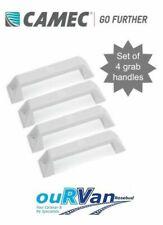 4 x White Caravan Grab Handles CAMEC 007988 UV Stabilized Jayco Windsor Galaxy