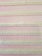 narrow natural cream cotton lace trimming braid