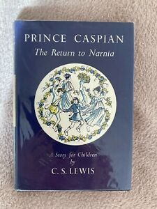 Prince Caspian. 1st Edition, 6th imp. C.S.Lewis 1966