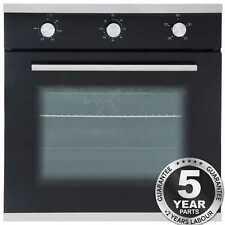 Sia SO101 60cm Built in Multi Function Single Electric True Fan Oven a Rated UK