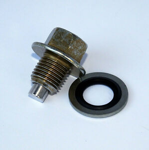 Magnetic Drain Plug - Oil Sump - thread size M12 x 1.25 - 12mm x 1.25 (PSR0105)