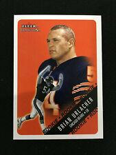 BRIAN URLACHER ROOKIE FLEER TRADITION 2000 CHICAGO BEARS RC FOOTBALL CARD