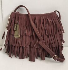 NEW UGG Wylde Crossbody Suede Handbag Oxblood Red From UGG Australia
