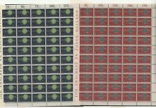 FIX 001 Luxembourg - Europa CEPT 1960 Mi. 629/30 complete sheets of MNH stamps