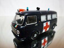 DEA PRC FIAT 238 1967 - AMBULANCE - DARK BLUE 1:43 - GOOD CONDITION