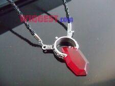 Devil May Cry Dante Red GEM Necklace DMC Pendant Vergil Amulet Stone Necklace
