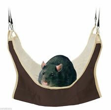 Rat Hammock Rat Bed Hamster Gerbils Small Rodents Cuddly Hanging Bed TRIXIE