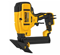 New Dewalt 20 Volt Max XR Cordless 18 Gauge Flooring Stapler Nailer # DCN682