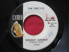THE ORLONS ~ SHIMMY SHIMMY ~ CAMEO 295 ~ RARE PROMO 45 NORTHERN SOUL