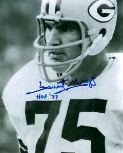 Packers FORREST GREGG (d) Signed 8x10 Photo #6 AUTO - HOF '77 - SB I&II Champ