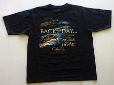 Cabelas Hunting Fishing Collectable T- Shirt New Unisex Bass Good Ole Boy Mens