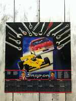 Vintage Snap-on Racing Poster 1988 NASCAR / Cart Dates Calendar Schedule 22.5X21