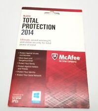 McAfee Total Protection 2014 3 PCs Windows (Key Card)