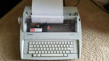 Brother Daisy Wheel Electronic Correcting Typewriter GX-6750 Tested Working