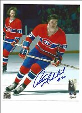 MONTREAL CANADIENS PETE MAHOVLICH SIGNED 8X10 PHOTO WITH COA