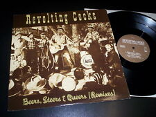 "Revolting Cocks ‎""Beers, Steers & Queers (Remixes)"" 12"" Wax Trax! Records 1991"