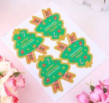 40pcs MERRY CHRISTMAS GIFT SEALS STICKERS DIY Xmas CARD Labels Tags Decorations