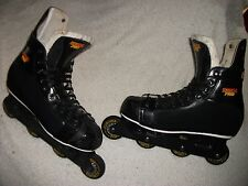 CCM ULTRA PRO ROLLER HOCKEY SKATES ROLLER BLADES GREAT SHAPE TOP QUALITY SIZE 12