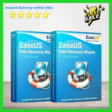 🔥 EaseUS Data Recovery Wizard v11.8 ✅ Digital Lifetime License Key 🔥 3 DEVICES