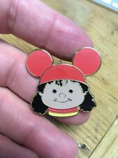 Disney Pin - It's A Small World Mystery Pin Tin Collection (Girl with Orange Ear