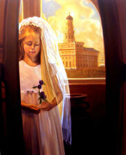LDS Nauvoo Temple Painting - Carrie Graber -Ltd. Edition Giclee Signed By Artist